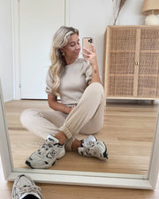 Daisy high waist sweat pants nomad
