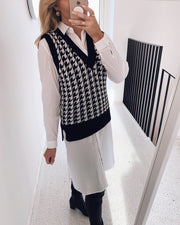 Pulk vest black/cream