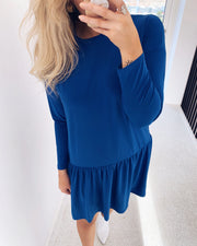 Nuna dress royal blue