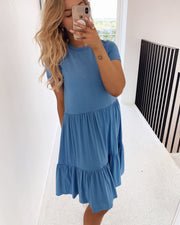 Norli dress blue bell