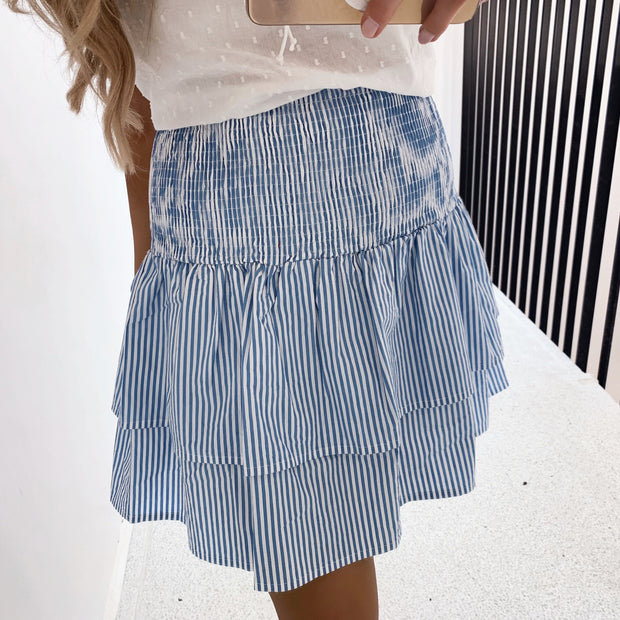 Adel skirt blue/white