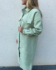 Vaila jacket sea green