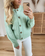 Lya cardigan soft mint