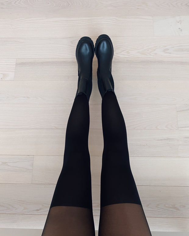 Gladys tights black 20/60 den