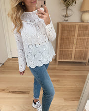 Vaike long sleeved blouse cream
