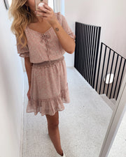 Etel dress rose/flower