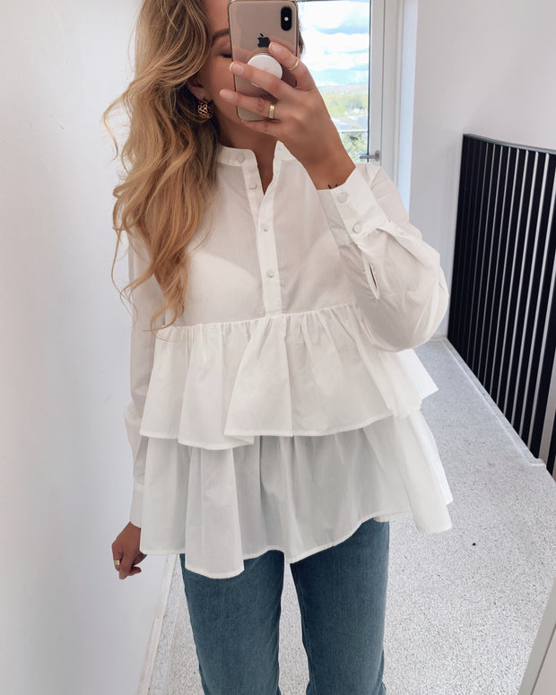 Dawn ls shirt star white