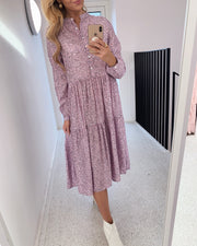 Lipe dress lilac multi dot