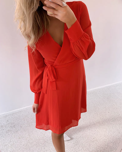 Gerdo dress red