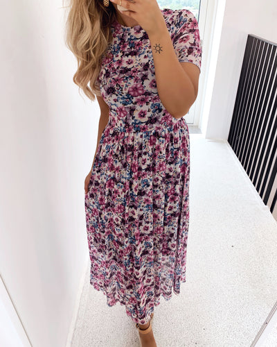 Malissa maxi dress rose