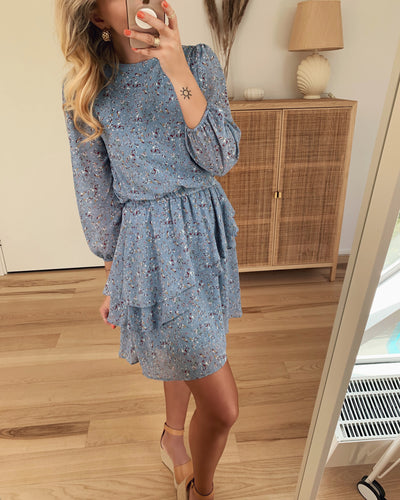 Grollo dress blue cloud/mistral
