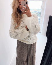 Olivia sweater white