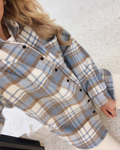 Ellie shirt blue bell check