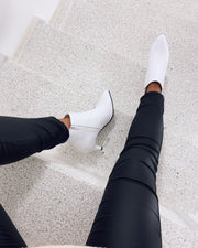 Ankleboots white