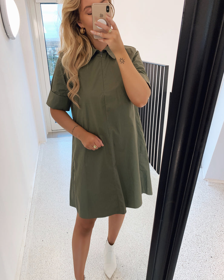 Gipa dress khaki