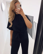 Girl jumpsuit black
