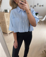 Gros-s shirt white/blue