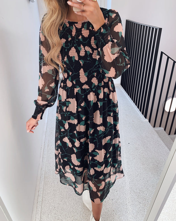 Aima dress big flower