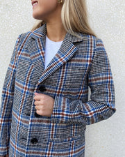 Cana jacket blue check