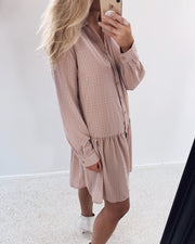 Nimble shirtdress rosa