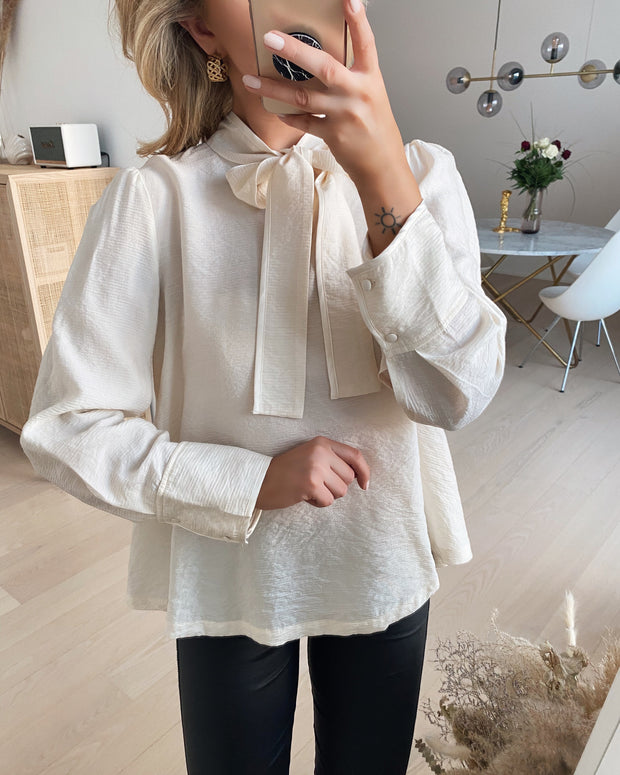 Jilla ls blouse cream