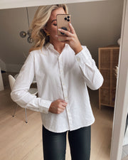 Irena ls oxford shirt noos bright white
