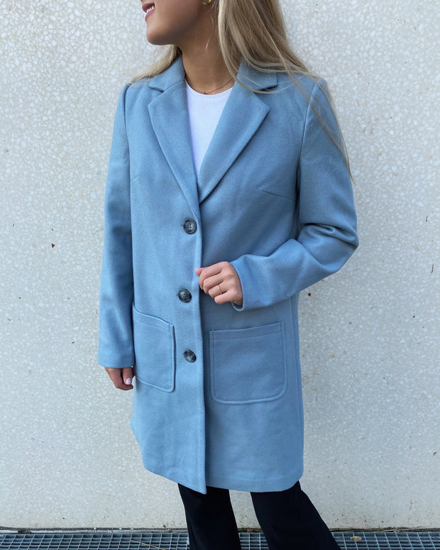 Cari jacket light blue