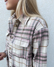 Stine long shirt old rose