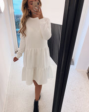 Petra dress white