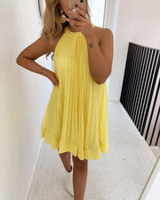 Enum dress yellow