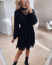 Bella ls lace dress