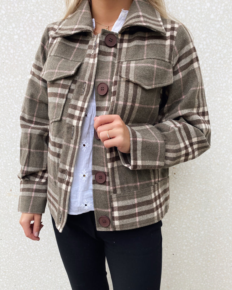 Johanna jacket brown