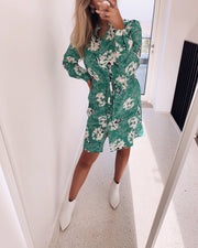 Valsi flower shirtdress