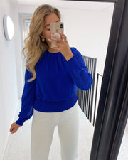 Nicoline top royal blue