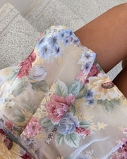 Eros dress flower