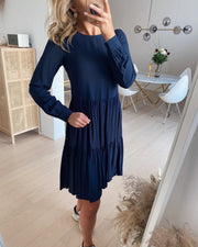 Nads ls girlie dress navy