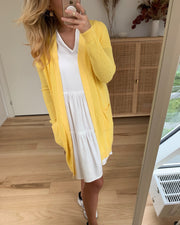 Skylar ls knit cardigan sunshine