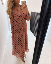 Monja ls dot dress