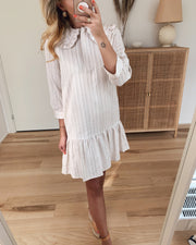 Harri dress light sand