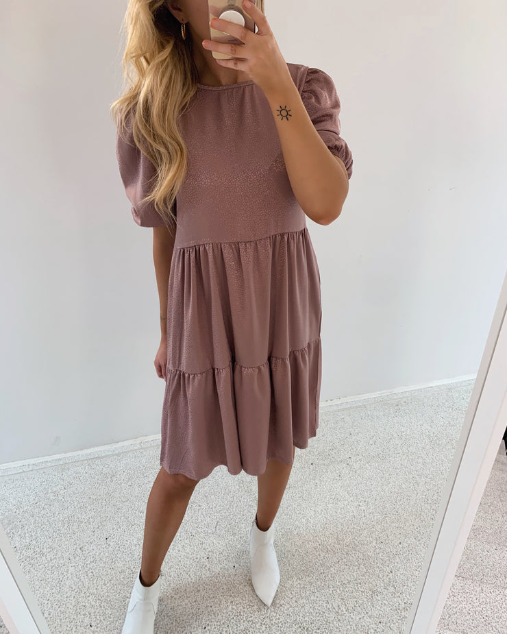 Nessi dress dark blush