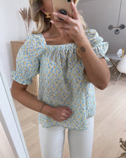 Eria ss blouse small flower