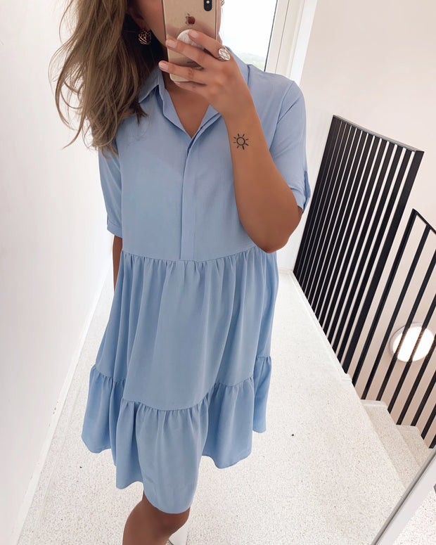 Gloss t-shirtdress light blue