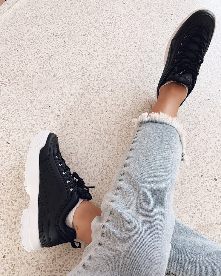 Chunky sneakers black