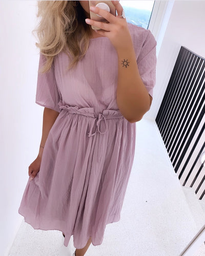 Skaga midi dress rose