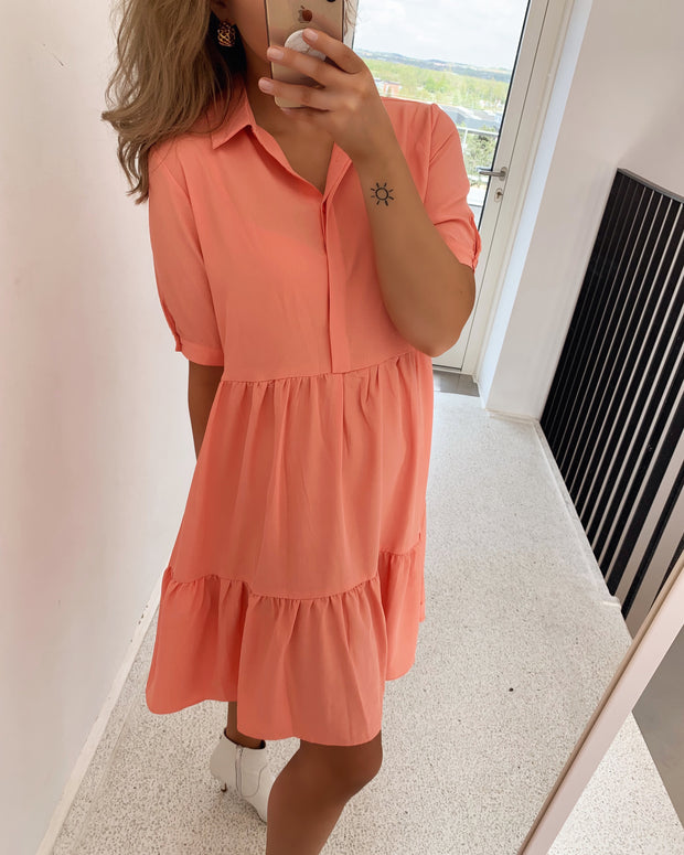 Gloss t-shirtdress light coral