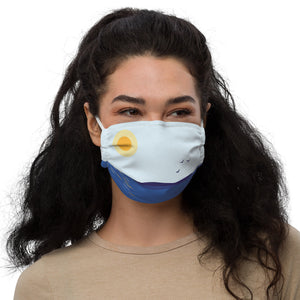 Finnish Landscape Face mask