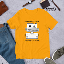 Load image into Gallery viewer, Silence is Golden Unisex T-Shirt