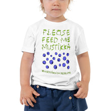 Load image into Gallery viewer, Feed Me Mustikka Toddler Short Sleeve Tee