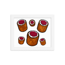 Load image into Gallery viewer, Runeberg torte Framed poster