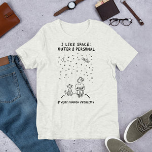 Outer & Personal Space Unisex T-Shirt